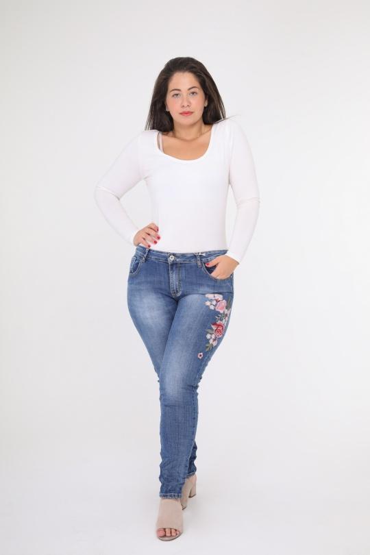 Jeans Femme Bleu Novo Création K933 eFashion Paris