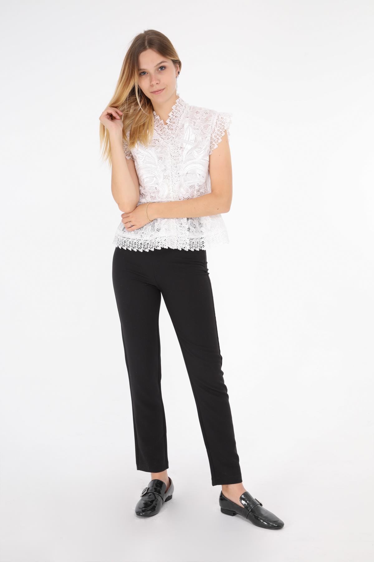 Tops Femme Blanc Lulumary H576 #c eFashion Paris
