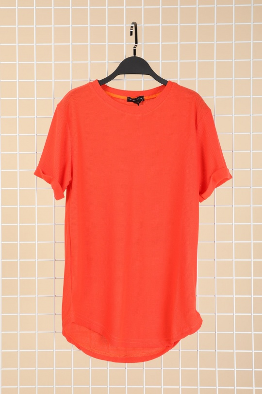 T-shirts Homme Orange TOP MONDAY 7241 #1 eFashion Paris