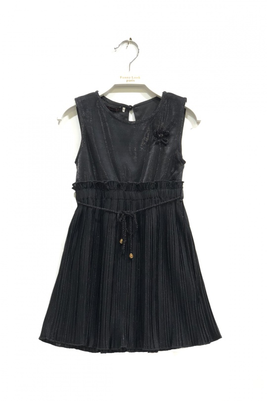 Robes Enfant Noir FANNY LOOK 7405 eFashion Paris