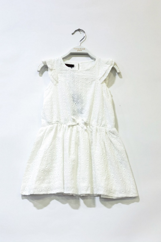 Robes Enfant Blanc FANNY LOOK 7428 eFashion Paris