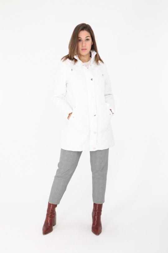 Manteaux Femme Blanc Cissy & Co F78 eFashion Paris