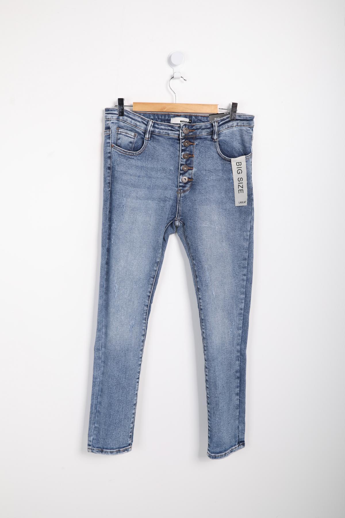 Jeans Femme Bleu Laulia 1J407 #c eFashion Paris