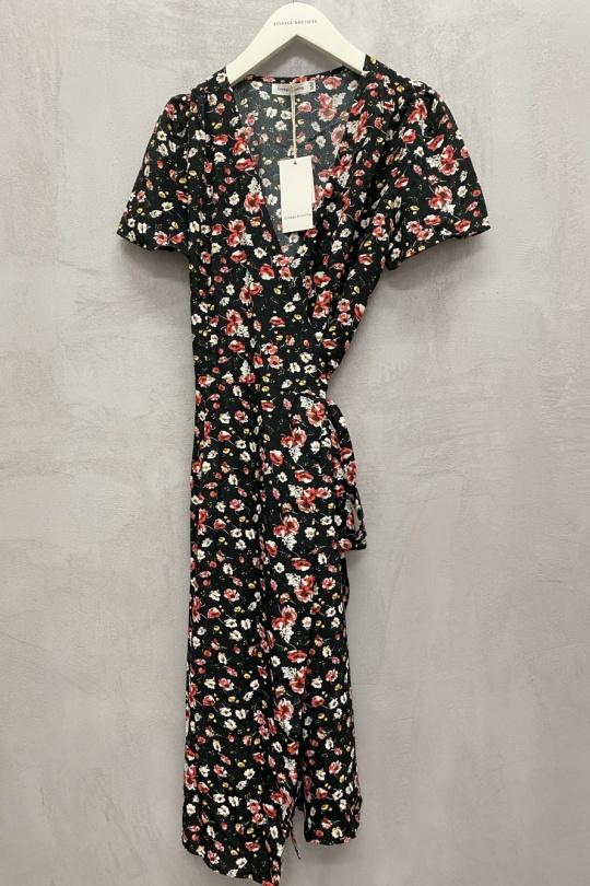 Robes longues Femme Noir Vintage Dressing K2045 eFashion Paris