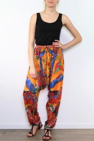 Pantalons Femme Jaune FRIME 786 eFashion Paris