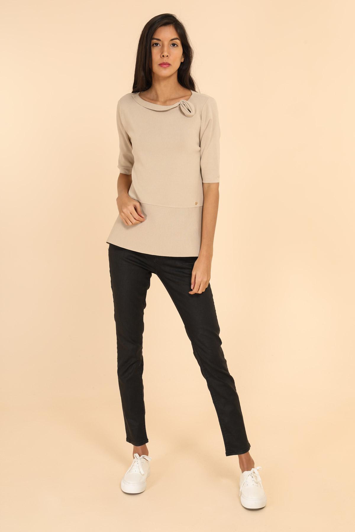 T-shirts Femme Couleurs mélangées Finery M19-863 #c eFashion Paris