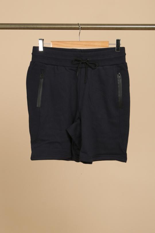 Shorts Homme Navy Zelia  BEAST eFashion Paris