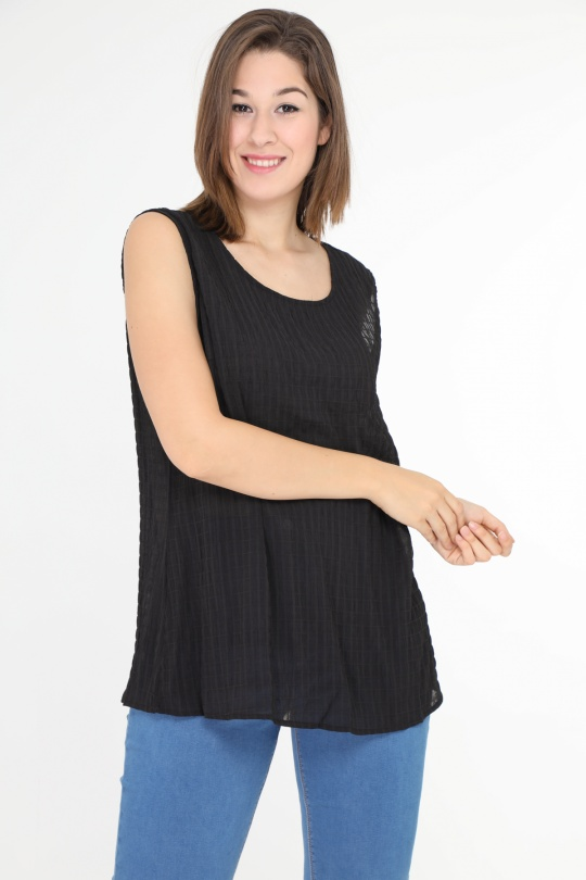 Tops Femme Noir Christy 361 #1 eFashion Paris