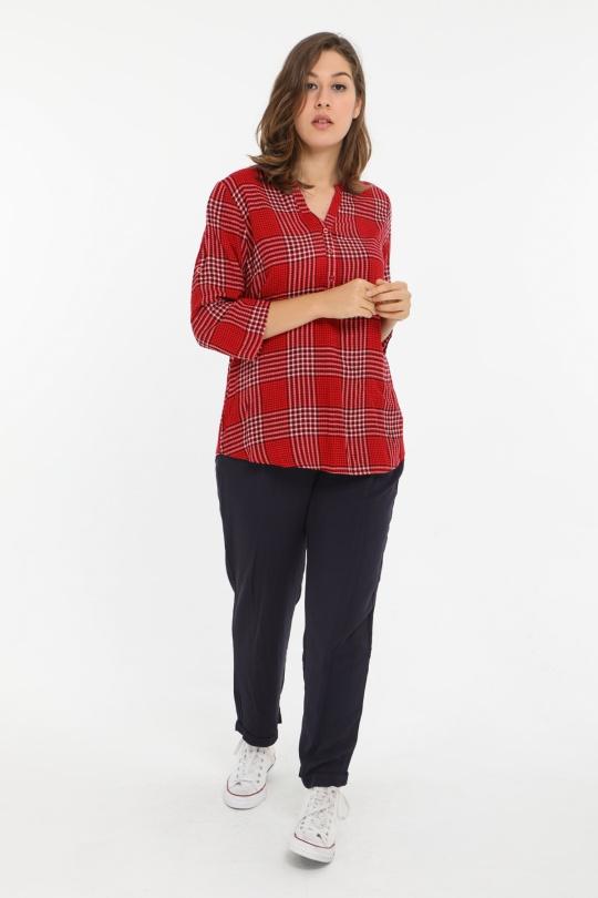 Chemises & blouses Femme Rouge Christy C225 eFashion Paris