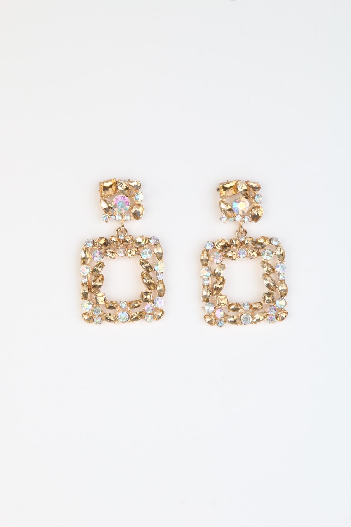 Boucles d'oreilles Accessoires Doré Better Way BW-001 #c eFashion Paris