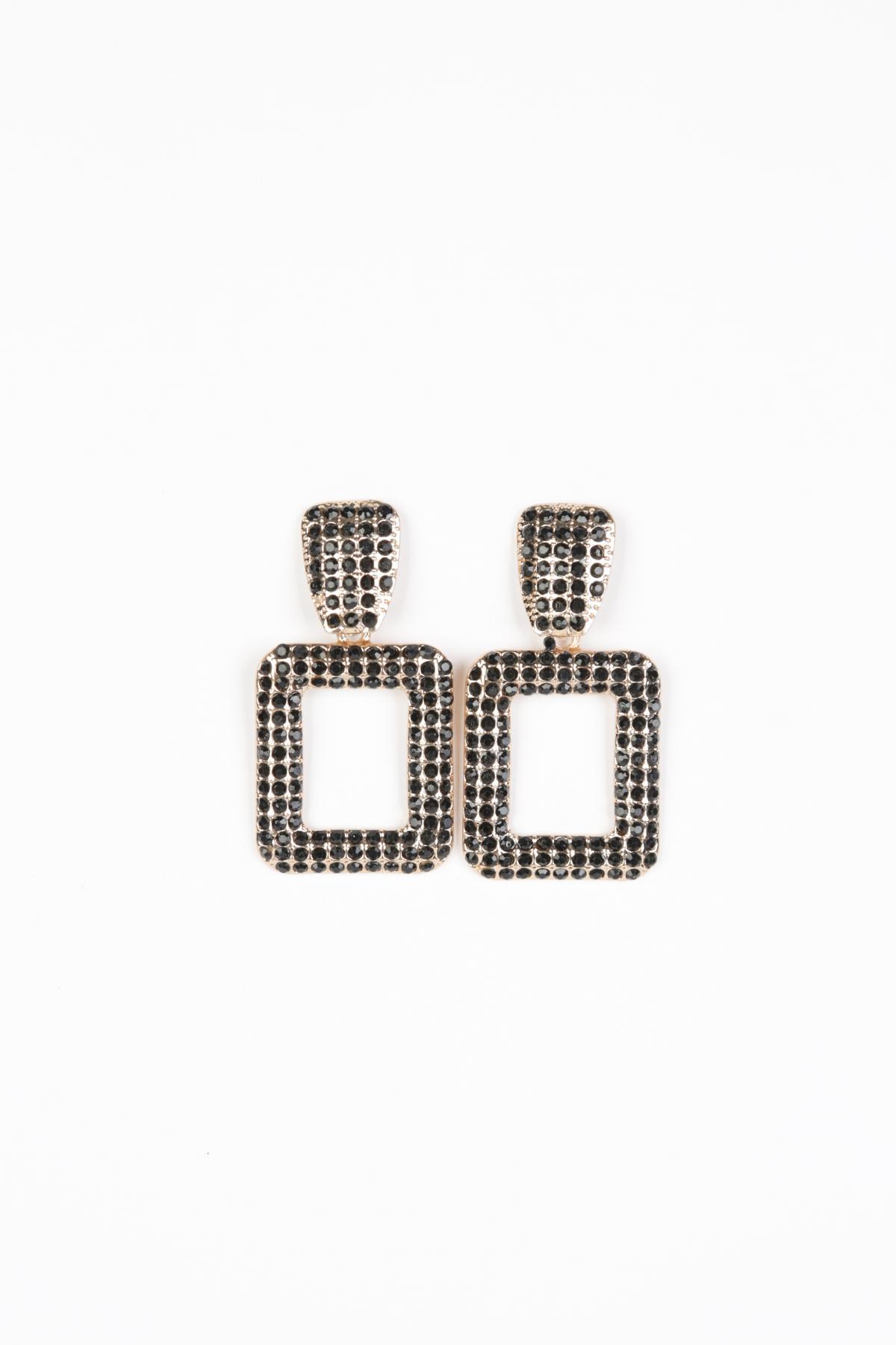 Boucles d'oreilles Accessoires Noir Better Way BW-012-NOIR #c eFashion Paris