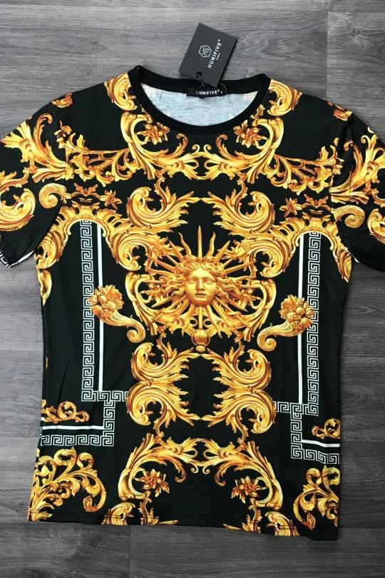 T-shirts Homme Noir Shialy T1 eFashion Paris