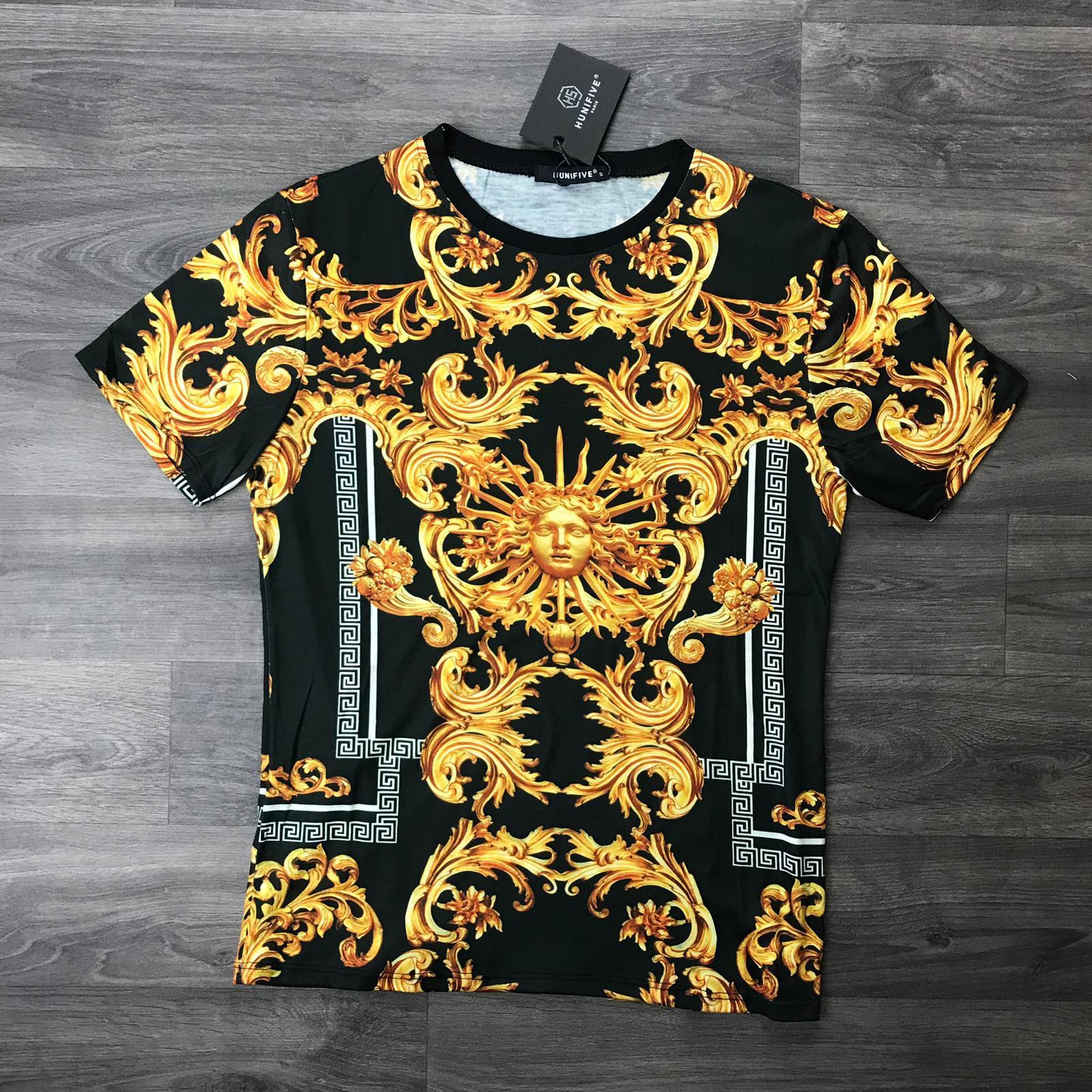 T-shirts Homme Noir Shialy T1 #c eFashion Paris