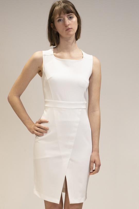 Robes courtes Femme Blanc Yours Paris 0114600 Efashion Paris