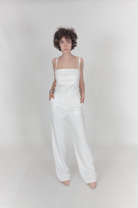 Tops Femme Blanc Yours Paris 0614300 eFashion Paris