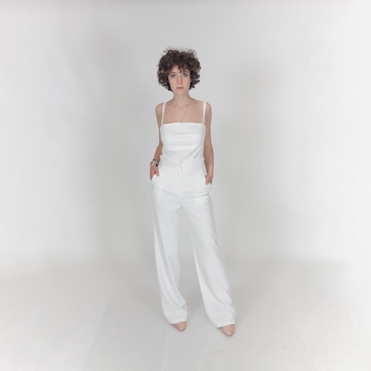 Tops Femme Blanc Yours Paris 0614300 #c eFashion Paris