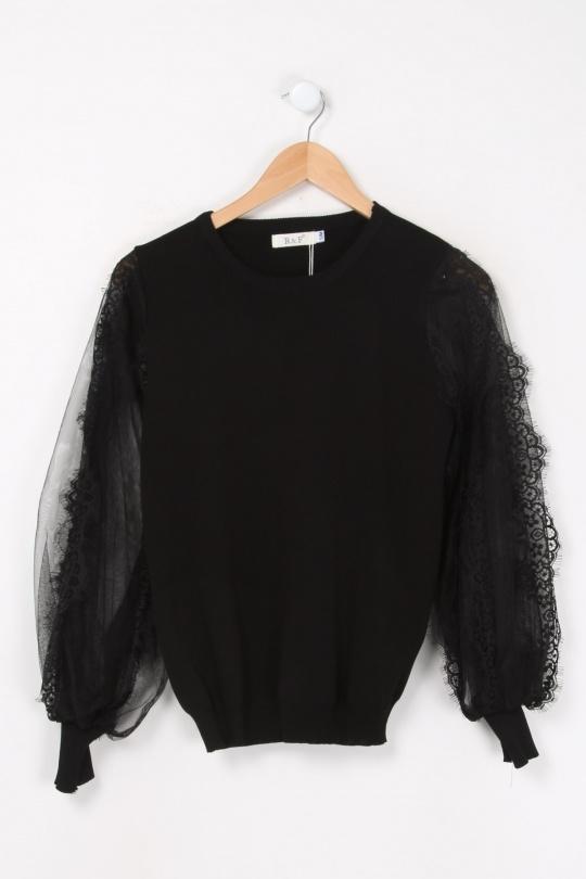 Pulls Femme Noir Rosa Fashion 2029 eFashion Paris