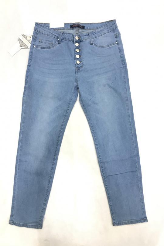 Jeans Donna Sky blue VETIS Y-6920 eFashion Paris