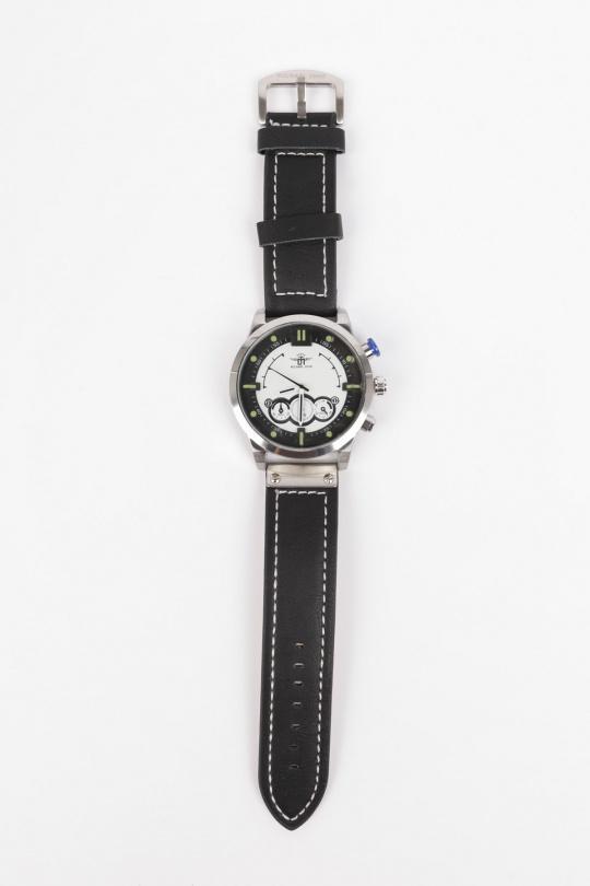 Montres Accessoires Argent/Blanc MICHAEL JOHN ET GG LUXE PK-915 eFashion Paris