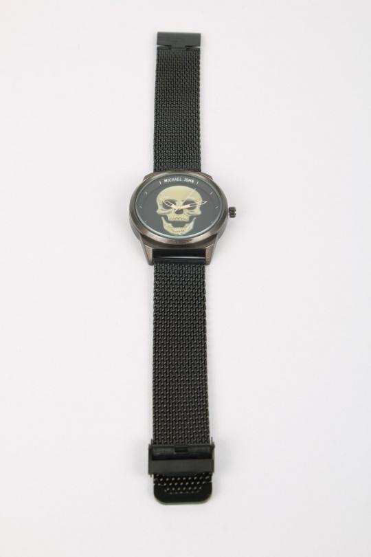 Montres Accessoires Noir MICHAEL JOHN ET GG LUXE V0091-MILANAISE eFashion Paris