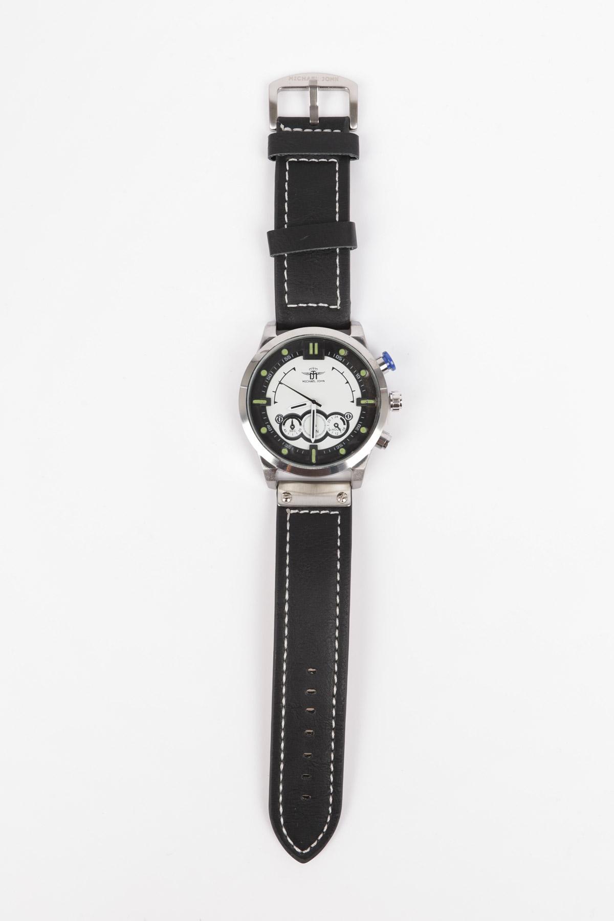 Montres Accessoires Argent/Blanc MICHAEL JOHN ET GG LUXE PK-915 #c eFashion Paris