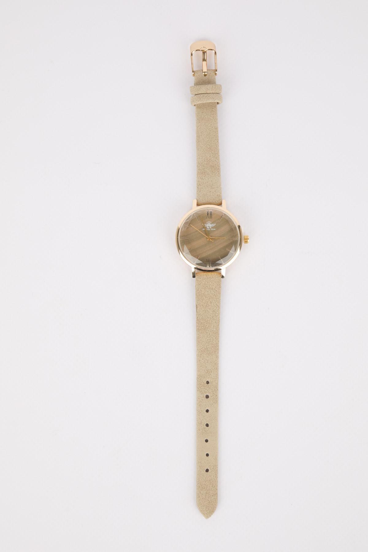 Orologi Accessori Taupe MICHAEL JOHN ET GG LUXE KH-190406 #c eFashion Paris