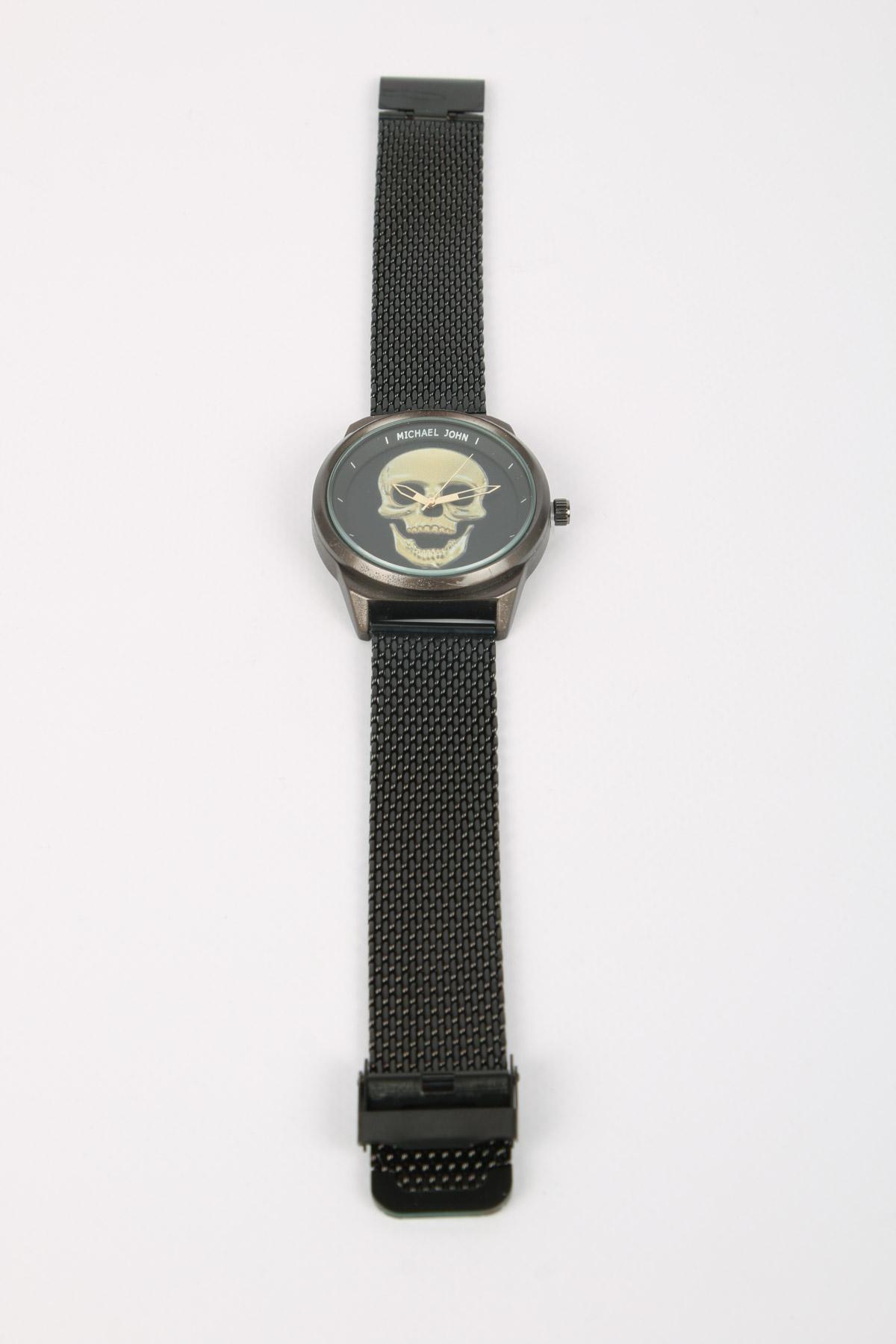 Montres Accessoires Noir MICHAEL JOHN ET GG LUXE V0091-MILANAISE #c eFashion Paris