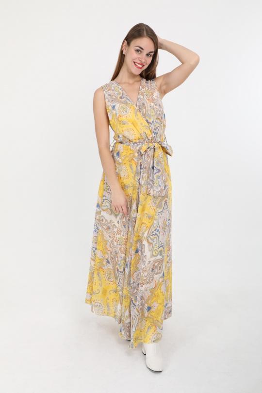 Robes longues Femme Couleurs mélangées LUSA 2432B eFashion Paris