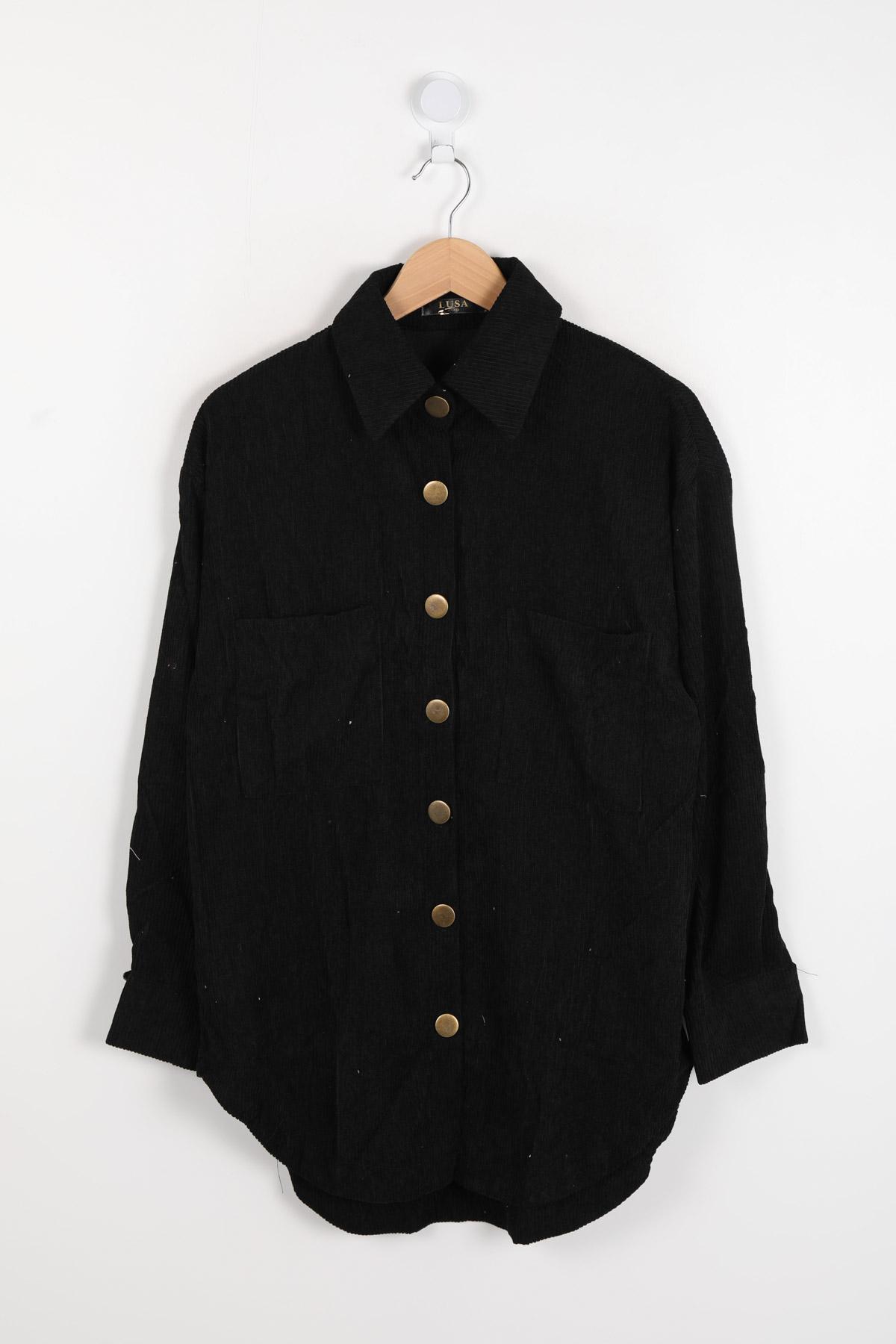 Chemises Femme Noir LUSA 882 #c eFashion Paris