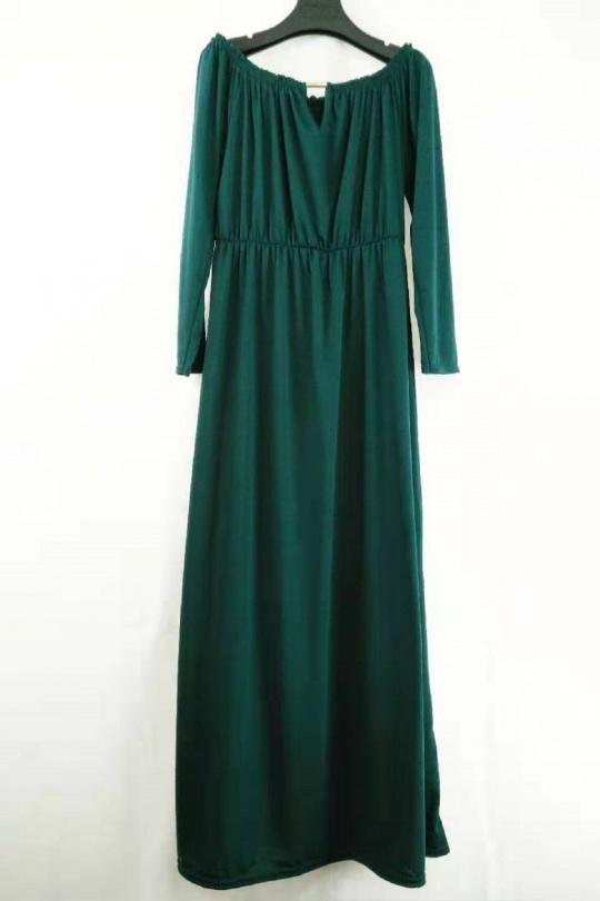 Robes longues Femme Vert canard imod R73 eFashion Paris