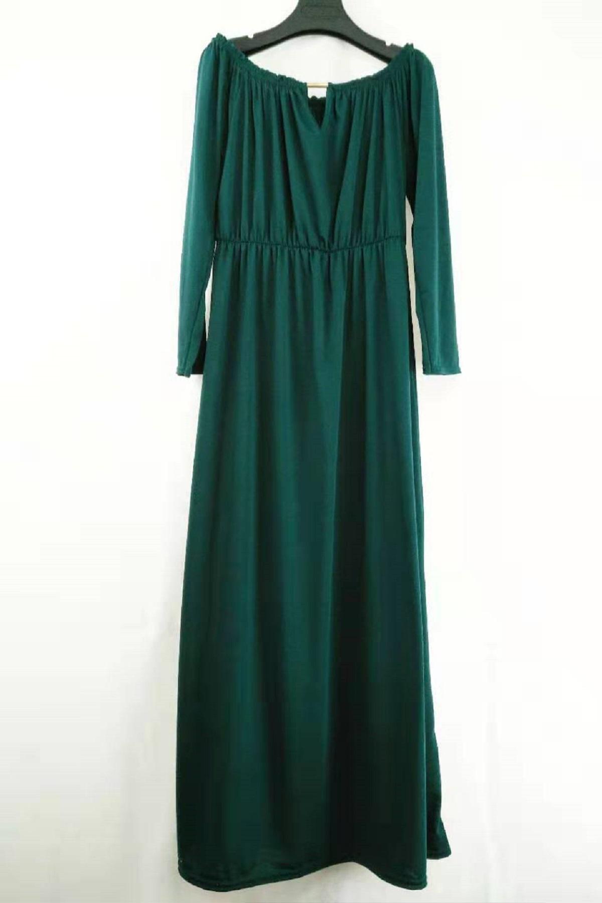 Robes longues Femme Vert canard imod R73 #c eFashion Paris
