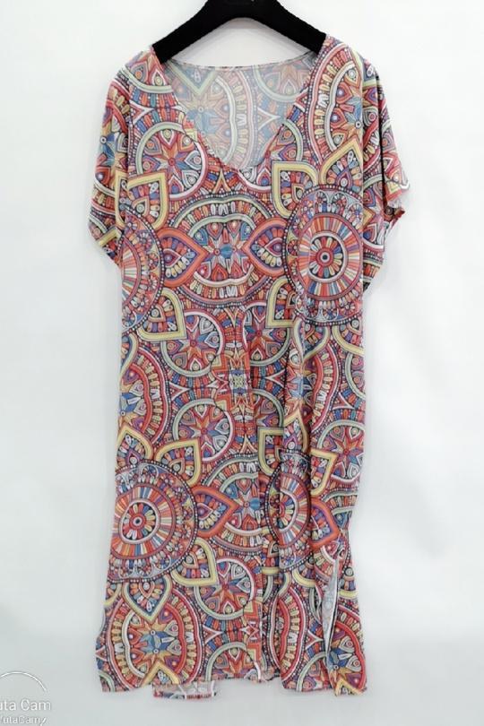 Robes mi-longues Femme Multi A Dafashion XCA6 Efashion Paris