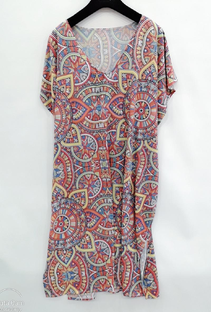 Robes mi-longues Femme Multi A Dafashion XCA6 #c Efashion Paris