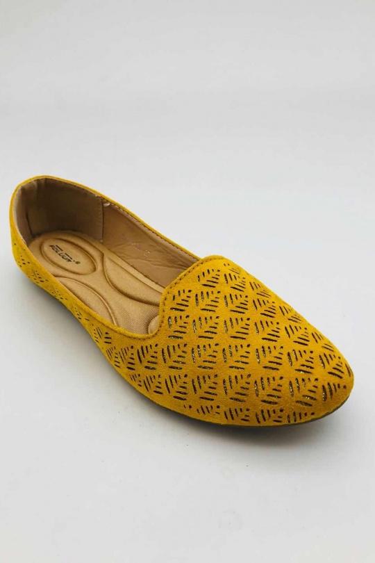 Mocassins Chaussures Jaune ABLOOM 9988-168 eFashion Paris