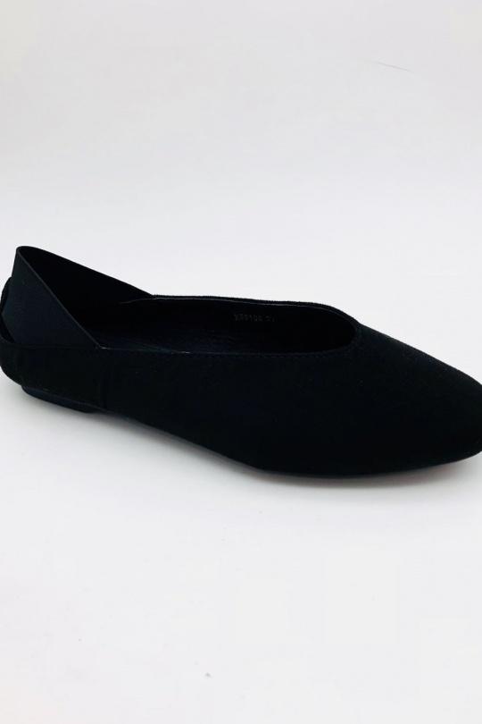 Ballerines Chaussures Noir ABLOOM XW9106 eFashion Paris