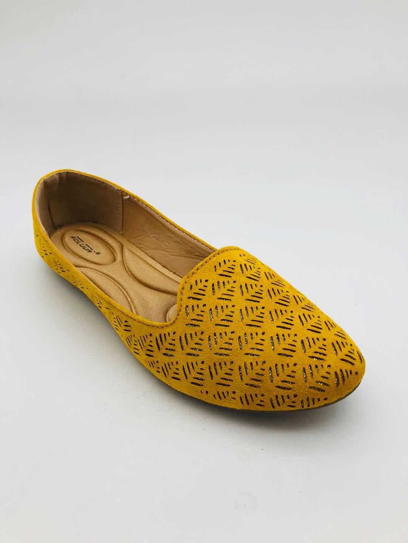 Mocassins Chaussures Jaune ABLOOM 9988-168 #c eFashion Paris