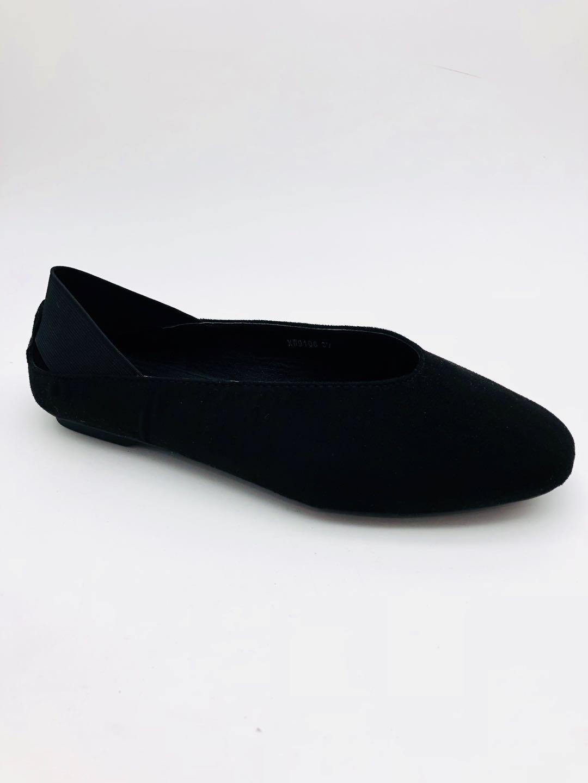 Ballerines Chaussures Noir ABLOOM XW9106 #c eFashion Paris