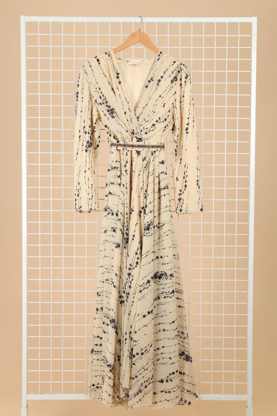 Robes longues Femme Ecru FARACCO 1702A02 eFashion Paris