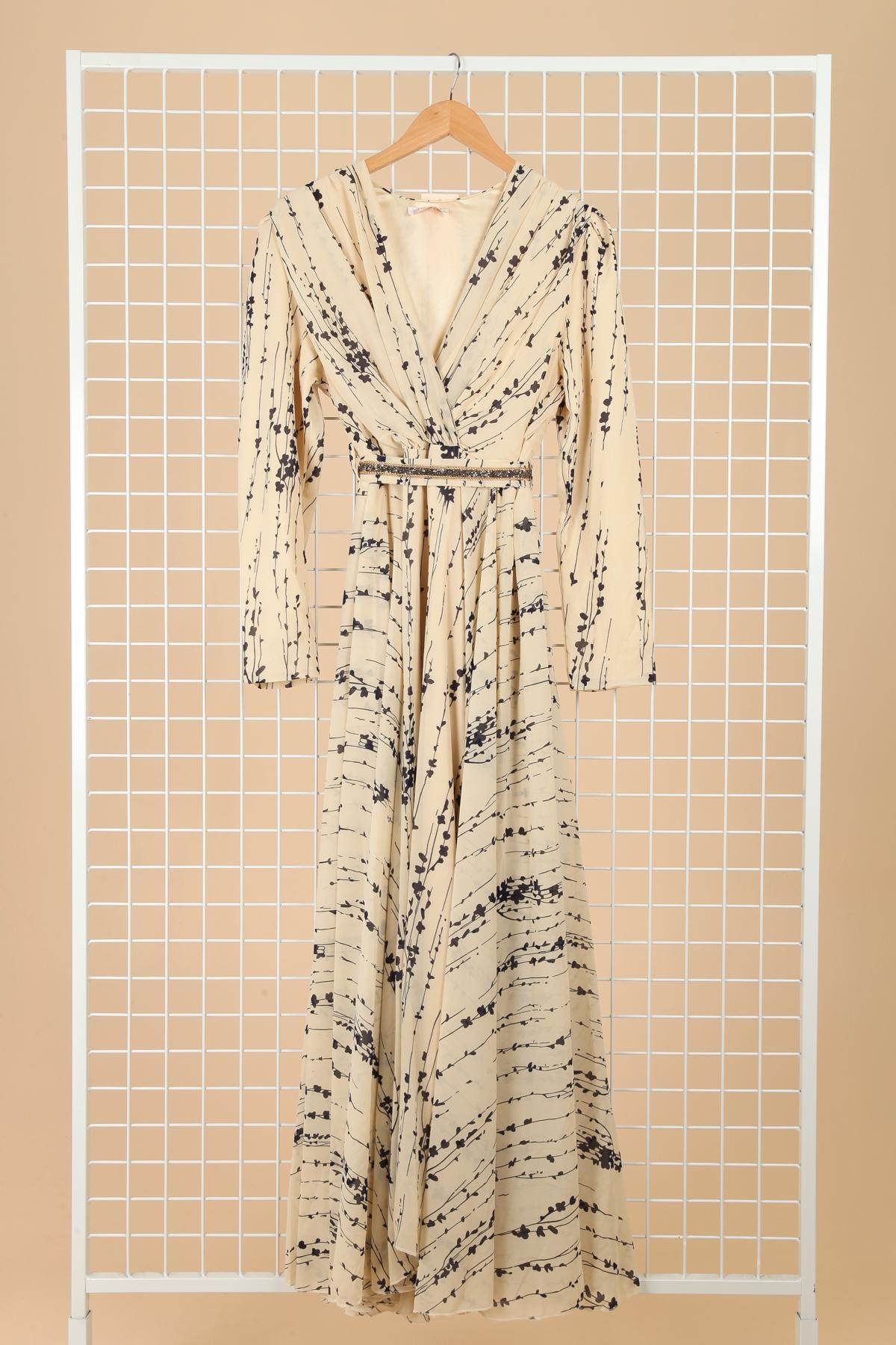 Robes longues Femme Ecru FARACCO 1702A02 #c eFashion Paris