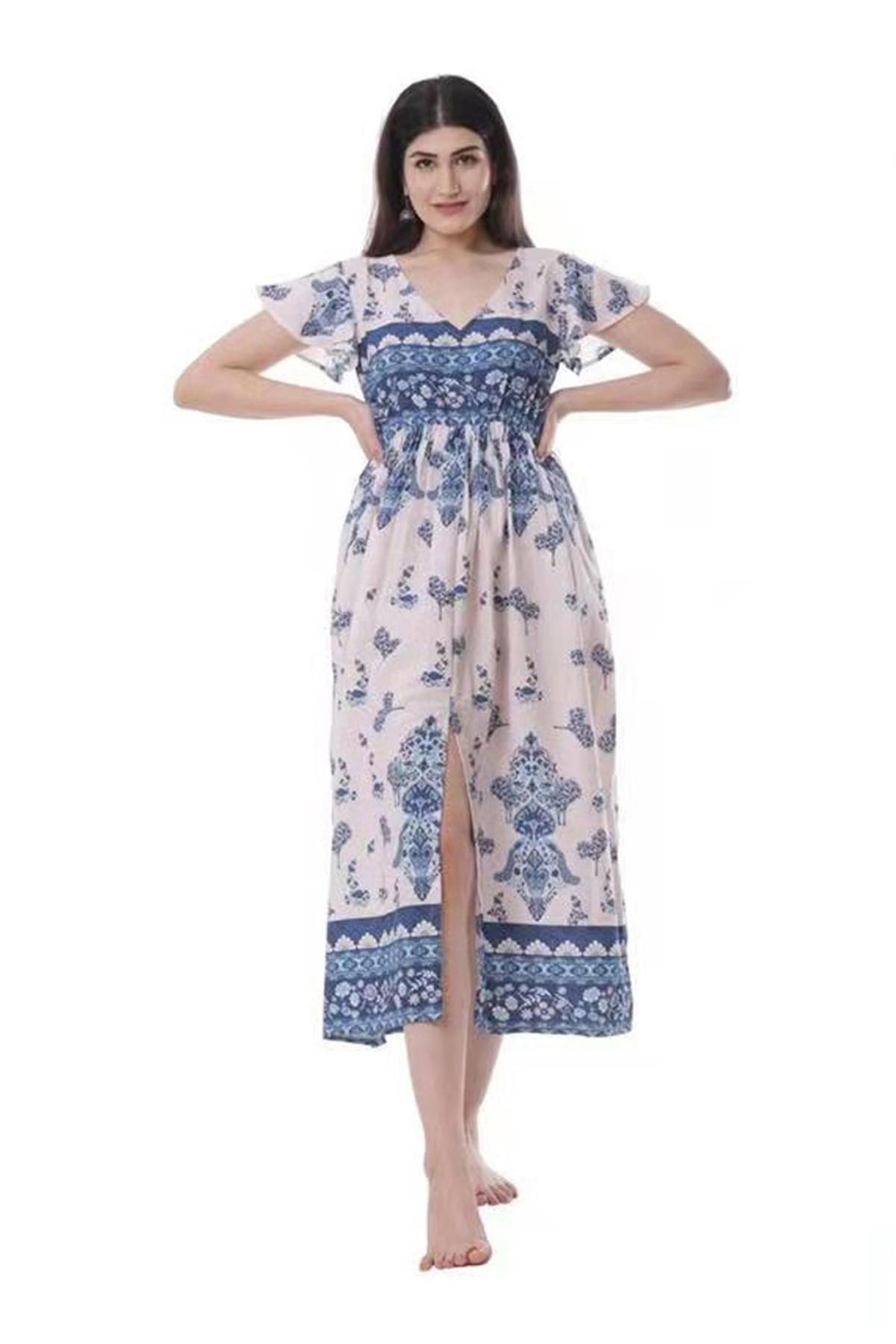 Robes mi-longues Femme Jean SARL LIFA  IN06103 #c eFashion Paris