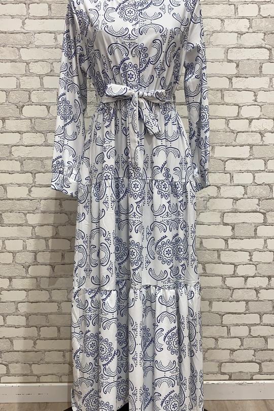 Robes longues Femme Blanc MY STYLE 2173 eFashion Paris