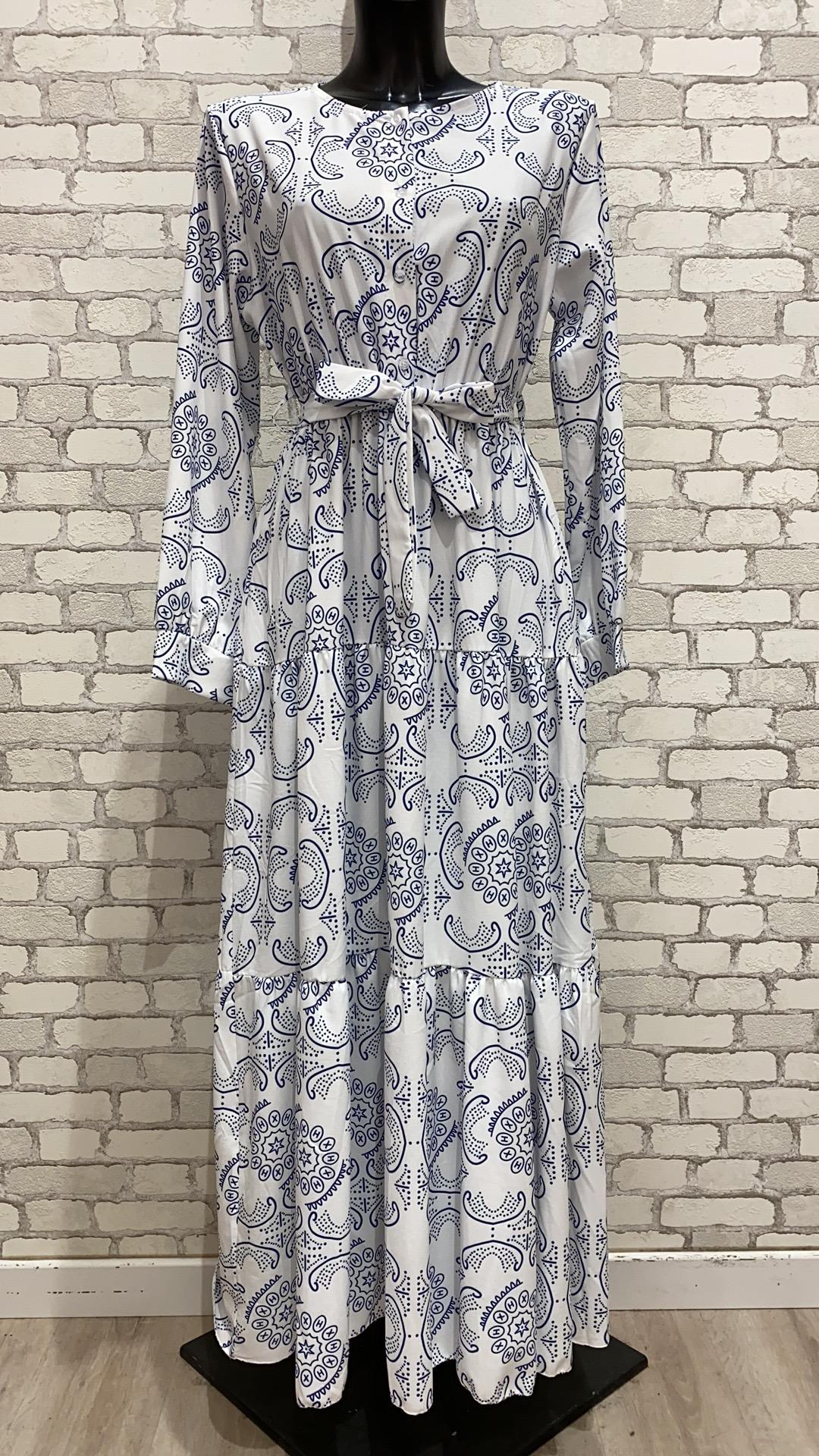 Robes longues Femme Blanc MY STYLE 2173 #c eFashion Paris