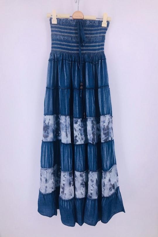 Jupes Femme Bleu jean SWEET & EXCELLENT 112326 eFashion Paris