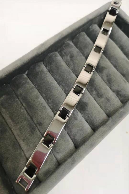 Bracelets Accessoires Noir MIRR'OR H-10 Efashion Paris