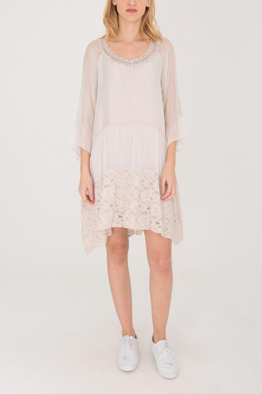 Robes courtes Femme Beige 3D TRADE 6114 eFashion Paris