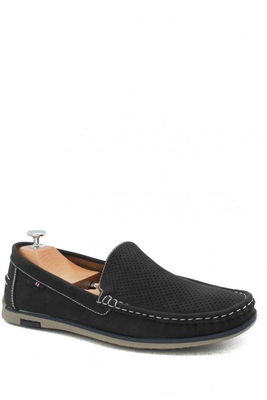 Mocassins Chaussures Noir LA BOTTINE SOURIANTE  FQJ1293 eFashion Paris