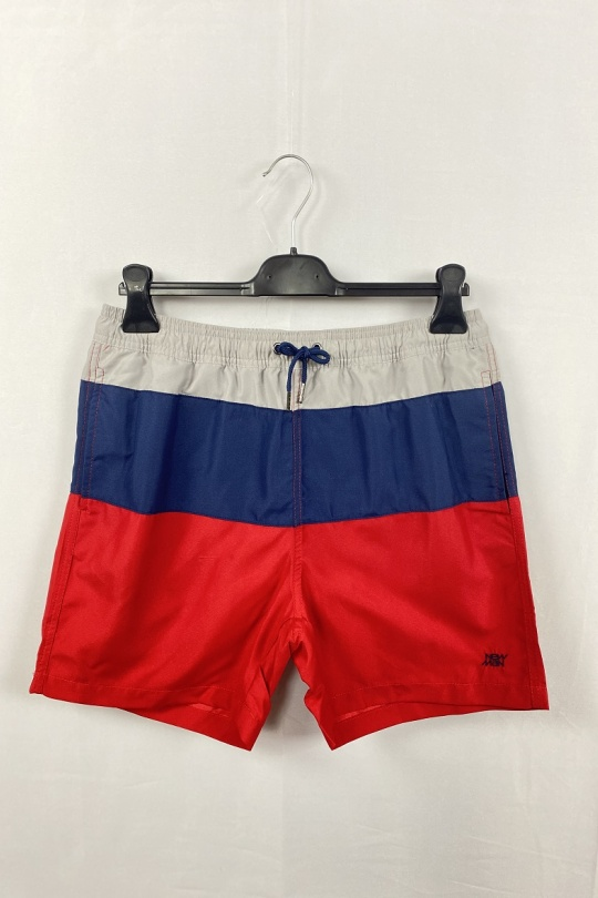 Shorts Homme Rouge SO BRAND NMHS3626RED eFashion Paris
