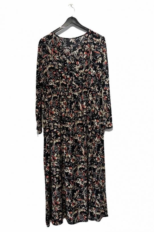 Robes & Combinaisons Femme Noir SO BRAND KR1502VVI-NOIR Efashion Paris