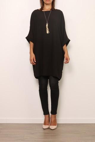 Robes courtes Femme 0643-NOIR Medi Mode