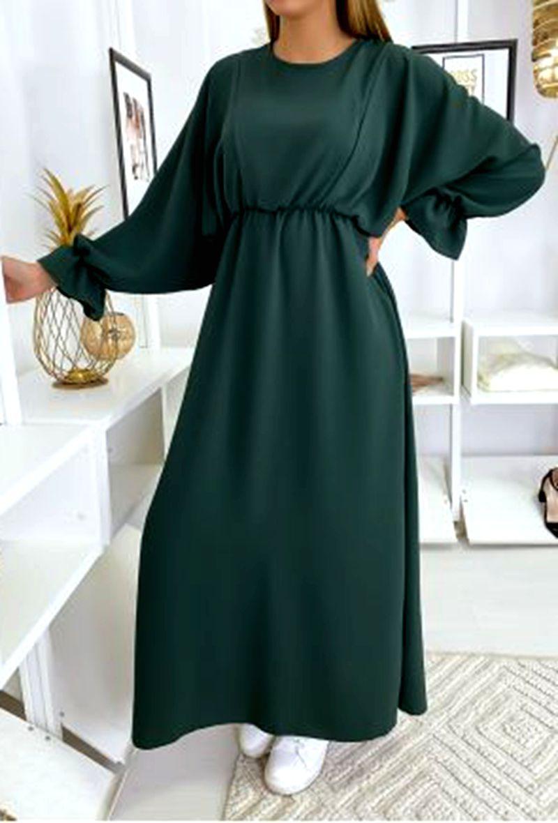 Robes longues Femme Vert FEMINALAND 731  #c eFashion Paris